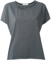 Stefano Mortari raw hemmed T-shirt - women - Cotton/Spandex/Elastane - 42