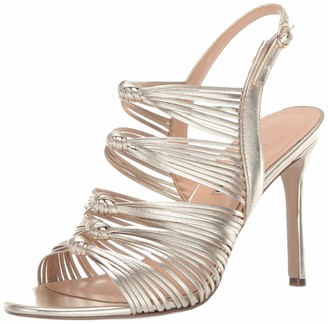 Charles David Women's Crest Heeled Sandal Bone 6 M US