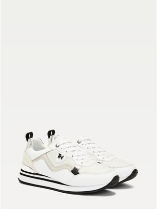 Tommy Hilfiger Leather Platform Sneaker