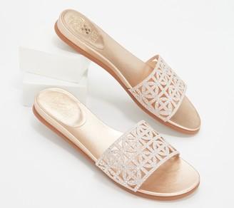Vince Camuto Studded Slide Sandals - Eveera