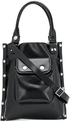 Junya Watanabe Rivet-Embellished Tote Bag