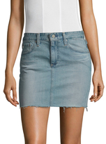 AG Adriano Goldschmied Sandy Mini Denim Skirt
