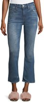 Mother Dutchie Straight-Leg Ankle Jeans