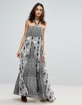 Free People Woman Of The Water Bandeau Maxi Dress