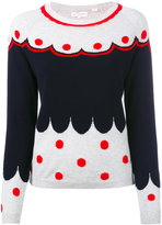 Chinti and Parker cashmere spotted jumper - women - Cashmere - XS