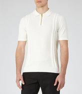 Reiss Como Zip Detail Polo Shirt