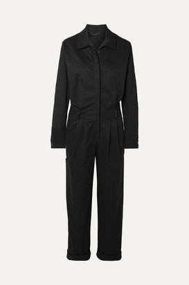 The Range - Stretch-cotton Twill Jumpsuit - Black