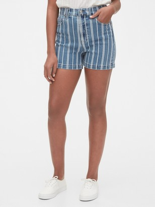 "Gap 5"" High Rise Mom Shorts"