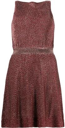 Missoni Slash-Neck Mini Dress