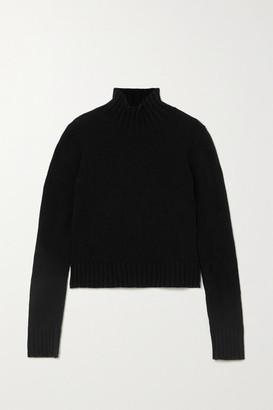 &Daughter + Net Sustain Audrey Wool Turtleneck Sweater - Black