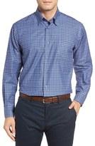 Robert Talbott Men's Anderson Classic Fit Plaid Cotton Sport Shirt