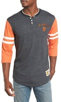 Mitchell & Ness Men's Home Stretch - San Francisco Giants Henley