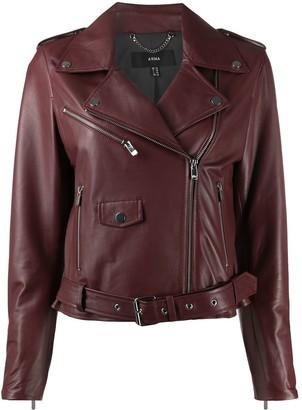 Arma Leather Biker Jacket