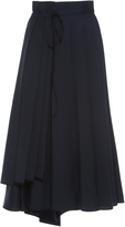 Dice Kayek Pleated A-line Skirt