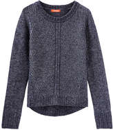 Joe Fresh Kid Girls' Rib Knit Sweater, Navy (Size M)
