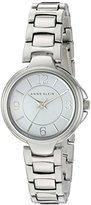 Anne Klein Women's AK/2431WTSV Silver-Tone Bracelet Watch