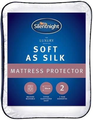 Silentnight Luxury Collection Soft as Silk Mattress Protector
