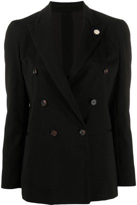 Lardini Double-Breasted Blazer Jacket