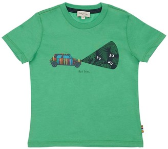 Paul Smith Glow In The Dark Cotton Jersey T-shirt