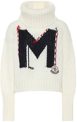 Moncler Intarsia turtleneck sweater