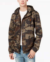 American Rag Men's Hooded Camo Jacket, Created for Macy's
