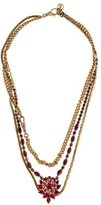 Lulu Frost Multistrand Crystal Necklace