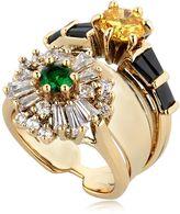 Iosselliani Anubian Stacked Ring