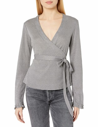 Somedays Lovin Women's Into The Dark Wrap Top