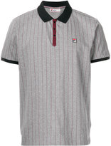 Fila pinstripe polo shirt