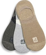 Sperry Performance Cushion Invisible Sock Liner 3-Pack