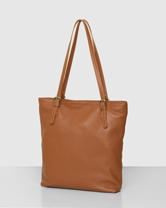 Bee Women's Brown Leather bags - The Rose Tote Bag - Size One Size at The Iconic