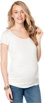 Jessica Simpson for Motherhood Maternity Open-Back Short-Sleeve Tee