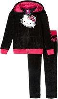 Hello Kitty Velour Active Set (Toddler/Kid) - Fuchsia Purple - 5