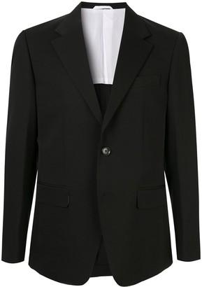 CK Calvin Klein Notched Lapel Blazer Jacket