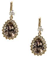 Marchesa Goldtone Pear Drop Earrings