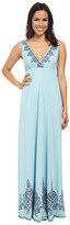 Roper 9772 Poly Rayon Jersey S/L Maxi Dress