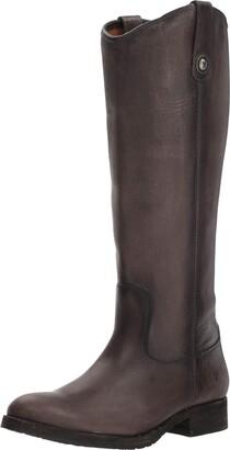 Frye Women's Melissa Button Lug Tall Boot