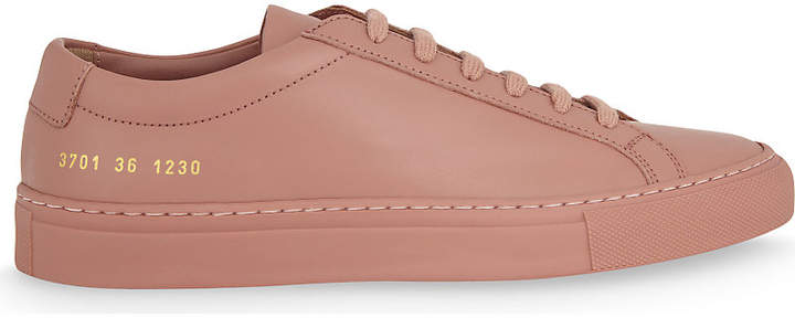 Common Projects Original Achillies leather low-top trainers