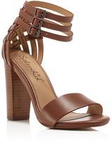 Splendid Jena Ankle Strap High Heel Sandals