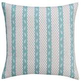 Thomas Paul Seedling By ; Curiosities Dotted Stripe Pillow Sham Euro - Multicolor