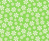 Camilla And Marc SheetWorld Fitted Crib / Toddler Sheet - Primary Green Floral Woven - Made In USA - 28 inches x 52 inches (71.1 cm x 132.1 cm)