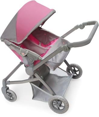 Badger Basket Voyage Twin Carriage Doll Stroller