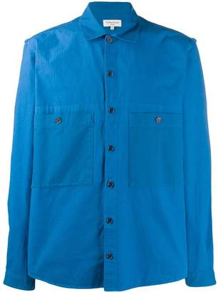 YMC spread collar shirt