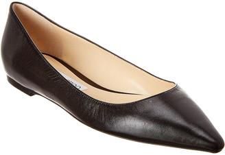 Jimmy Choo Romy Leather Flat