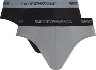 Giorgio Armani Stretch Cotton Briefs (Pack Of 2)