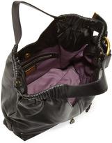 Kooba Lana Buckled Shopper Bag, Black