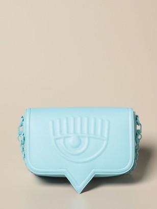 Chiara Ferragni Crossbody Bags Eyelike Bag In Synthetic Leather