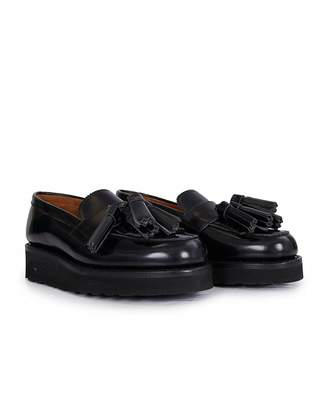 Grenson Clara Chunky Sole Loafers Colour: BLACK, Size: UK 3