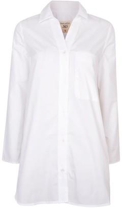 Nologo Chic Long Island Long Shirt - White