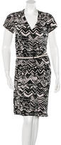 Missoni Printed Short Sleeve Dress